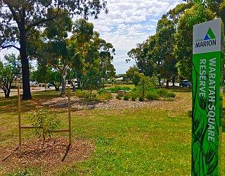Waratah Square Reserve Sign 2