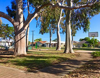 Ballara Park Reserve Facilities Pathway 3