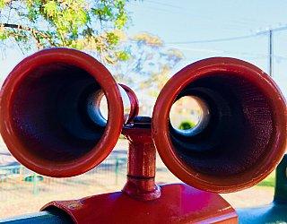 Ballara Park Reserve Playground Multistation Binoculars 1