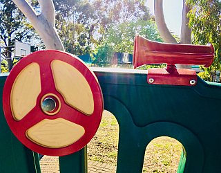 Ballara Park Reserve Playground Multistation Steering Wheel 1