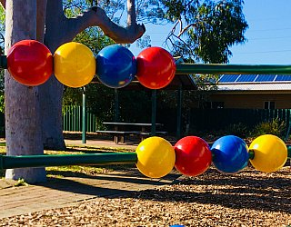 Ballara Park Reserve Playground Multistation Bead Panel 1