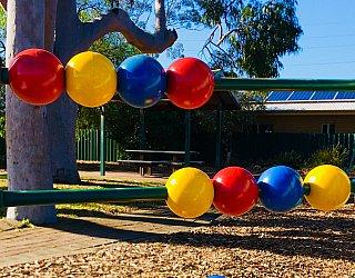 Ballara Park Reserve Playground Multistation Bead Panel 1