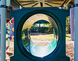 Ballara Park Reserve Playground Multistation Tunnel 1