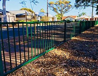 Ballara Park Reserve Facilities Fence 1