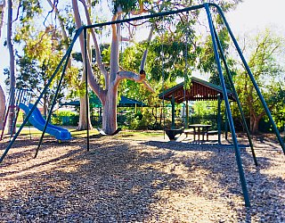 Ballara Park Reserve Playground Swings 1