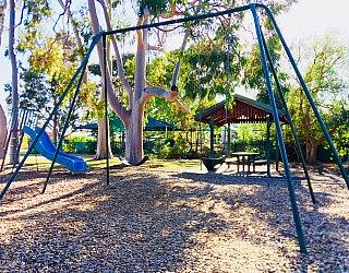 Ballara Park Reserve Playground Swings 1