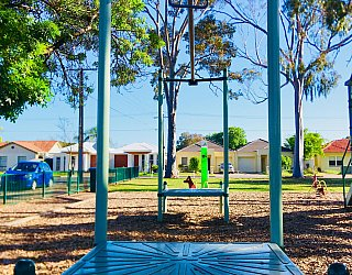 Ballara Park Reserve Playground Flying Fox 1