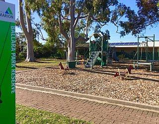 Ballara Park Reserve Sign 1
