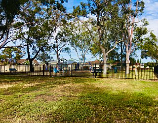 Cowra Crescent Reserve South Fence 2