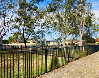Cowra Crescent Reserve South Fence 1