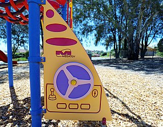 Manoora Drive Reserve Playground Multistation 3