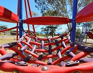 Manoora Drive Reserve Playground Multistation 4