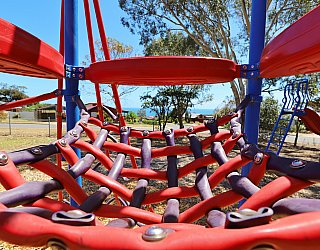 Manoora Drive Reserve Playground Multistation 4
