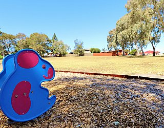 Manoora Drive Reserve Playground Springer 1