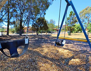 Manoora Drive Reserve Playground Swings 1
