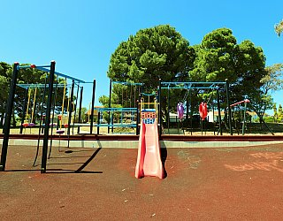 Mema Court Reserve Playground Multistation 2
