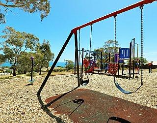 Mema Court Reserve Playground Swings 1