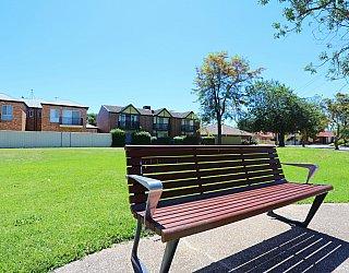Audrey Street Reserve Facilities Seat 2
