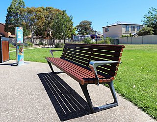 Audrey Street Reserve Facilities Seat 3