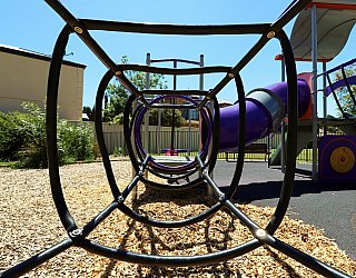 Audrey Street Reserve Playground Multistation Climbing Net Tunnel 1