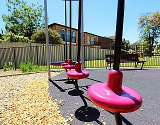 Audrey Street Reserve Playground Multistation Pommel Course 1