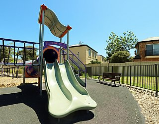 Audrey Street Reserve Playground Multistation Slide 1