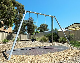 Audrey Street Reserve Playground Swings 1