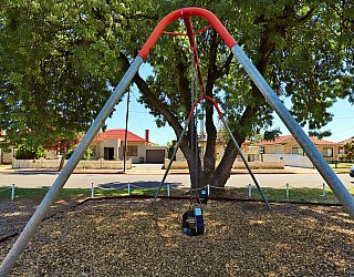 Weaver Street Reserve Playground Swings 2