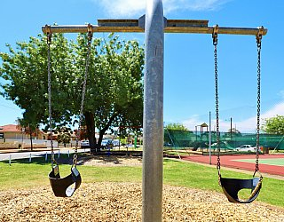 Weaver Street Reserve Playground Swings 3