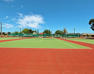 Weaver Street Reserve Tennis 1