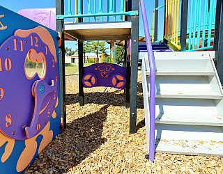 Chatsworth Court Reserve Playground Multistation 2