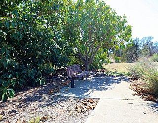 Columbia Crescent Reserve Memorial Seat 1