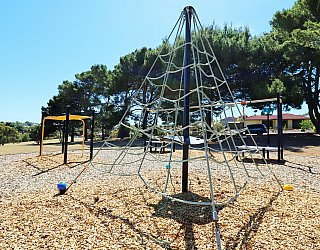 Olivier Terrace Reserve Playground Climbing Net 1