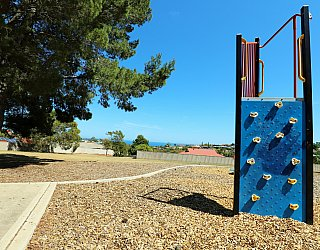 Olivier Terrace Reserve Playground Climbing Wall 1