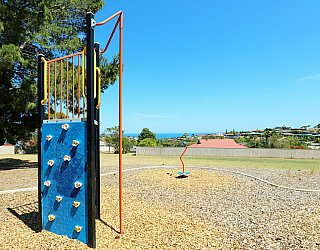 Olivier Terrace Reserve Playground Climbing Wall 2