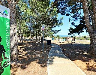Olivier Terrace Reserve Sign 2