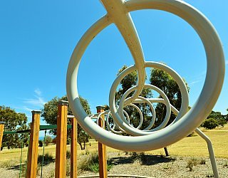 Spinnaker Circuit West Reserve Playground Multistation Monkey Bars 2