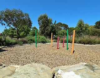 Spinnaker Circuit West Reserve Playground Poles 1