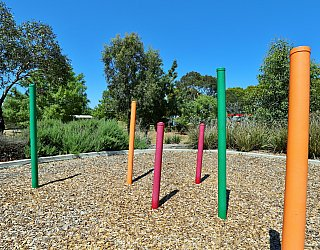 Spinnaker Circuit West Reserve Playground Poles 2