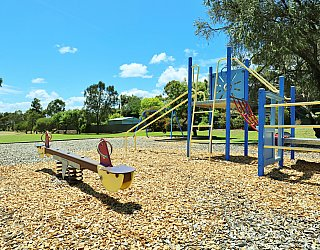 Alpine Road Reserve Playground Seesaw 1