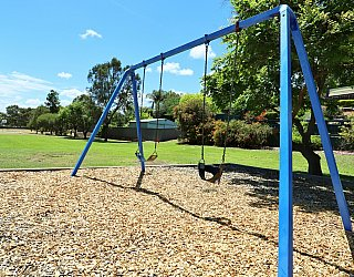 Alpine Road Reserve Playground Swings 1