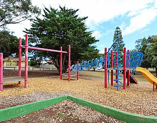 Central Avenue Reserve South Playground Multistation 1