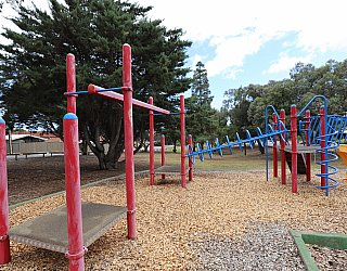Central Avenue Reserve South Playground Multistation 4