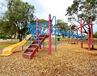 Central Avenue Reserve South Playground Multistation 6