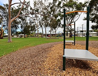 Hamilton Park Reserve Playground Flying Fox 1