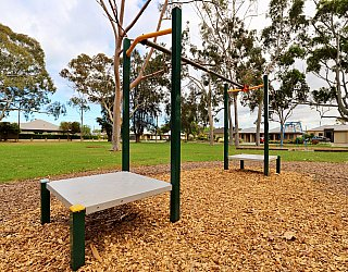 Hamilton Park Reserve Playground Flying Fox 2