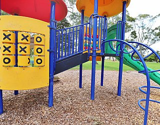 Hamilton Park Reserve Playground Multistation 1