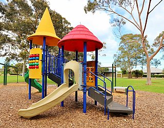 Hamilton Park Reserve Playground Multistation 6