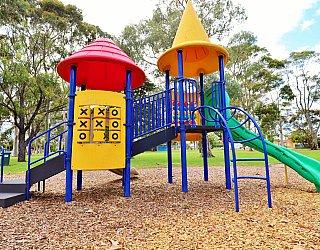Hamilton Park Reserve Playground Multistation 7