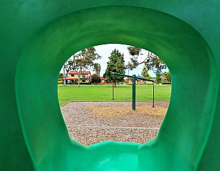Hamilton Park Reserve Playground Multistation Slide 1